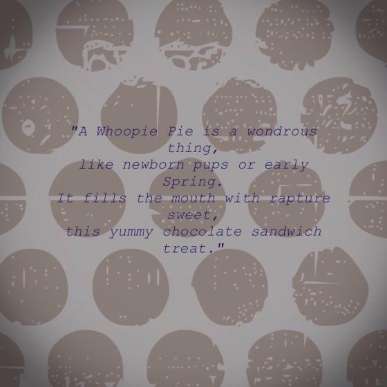 Whoopie Pie Poem