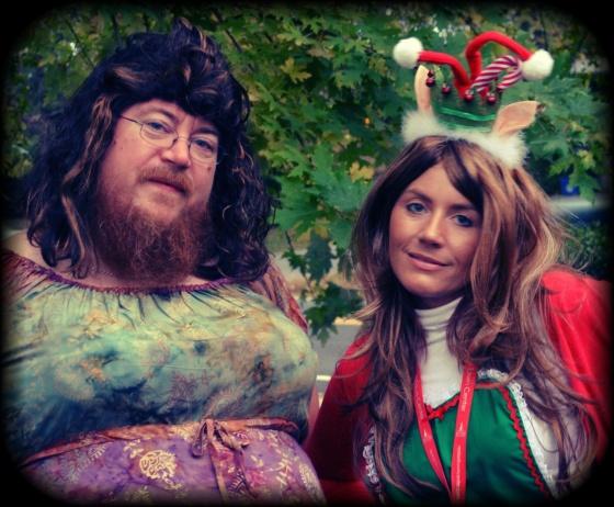 Bearded Lady & Elf