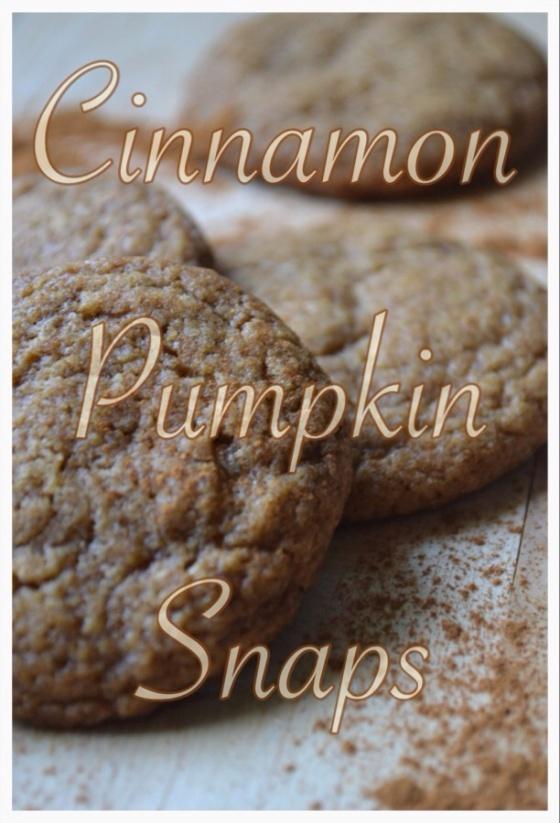Cinnamon Pumpkin Snaps
