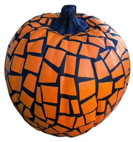 Mosaic Pumpkin