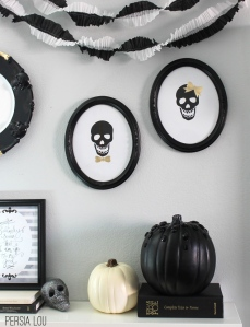 Mr. & Mrs. Skull Cameos