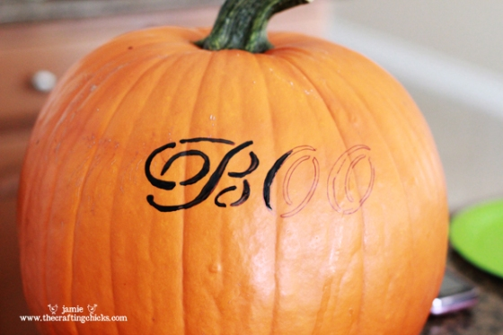 Sharpie Marker Pumpkin