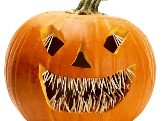 Toothpick Pumpkin