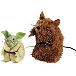 Yoda & Chewbacca Mice