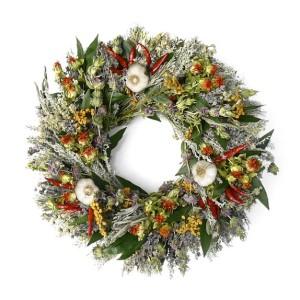 Fall Herb & Garlic Wreath