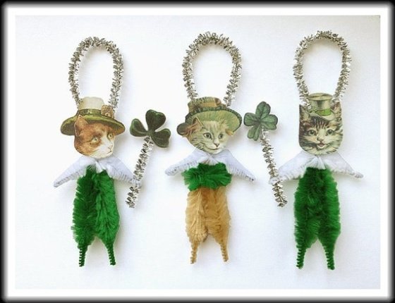 St. Patrick's Day Christmas Ornaments