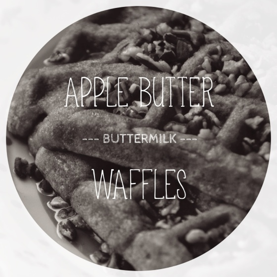 Apple Butter Buttermilk Waffles