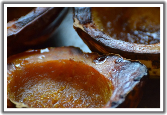Baked Carnival Squash