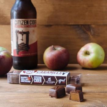 Milk Chocolate Apple Cider Caramels