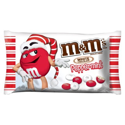 M&M's White Chocolate Peppermint Candy
