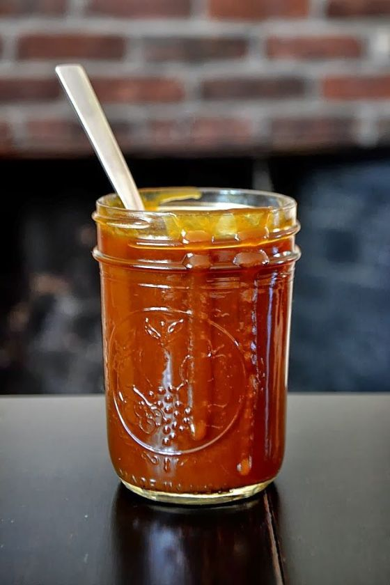 Pumpkin Molasses Caramel Sauce