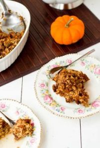 Pumpkin Pie Breakfast Casserole