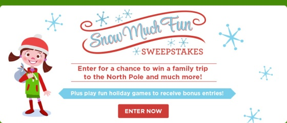 Snow Much Fun Sweepstakes