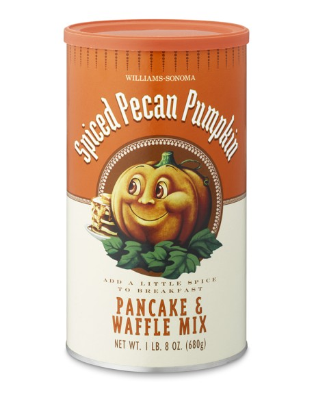 Spiced Pecan Pumpkin Pancake & Waffle Mix at Williams-Sonoma