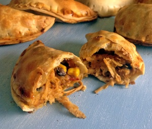Spicy Turkey and Mashed Potato Empanadas
