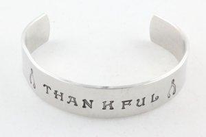 Thankful Cuff Bracelet