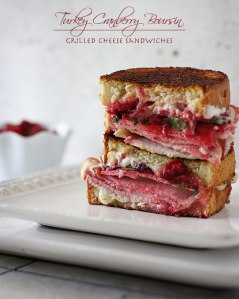 Turkey Cranberry & Boursin Grilled Cheese