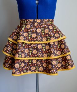 Vintage Style Fall Apron