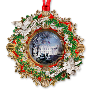 2013 White House Christmas Ornament - The White House Historical Association