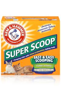 Super Scoop Cat Litter - Arm & Hammer
