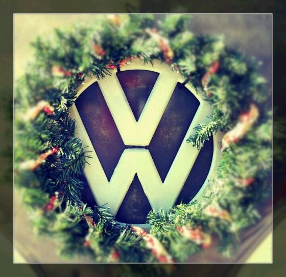 Christmas VW Wreath