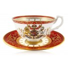 Coronation Teacup & Saucer - Royal Collection Trust Shop
