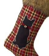 Deck the Halls Cat Christmas Stocking