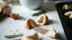 DIY Fortune Cookies