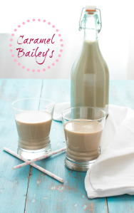 Homemade Caramel Bailey's Irish Cream