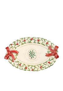 Lenox Holiday Statement Platter - Belk