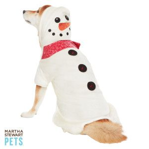 Martha Stewart Pets - Snowman Costume