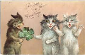 New Year's Lucky Cats