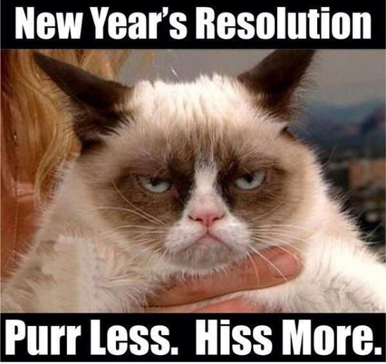 Purr Less. Hiss More.