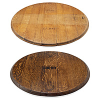 Retired Wine Barrel Lazy Susan - UncommonGoods