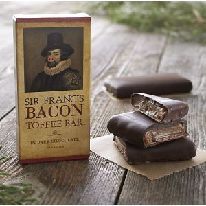 Sir Francis Bacon Dark Chocolate Toffee Bar