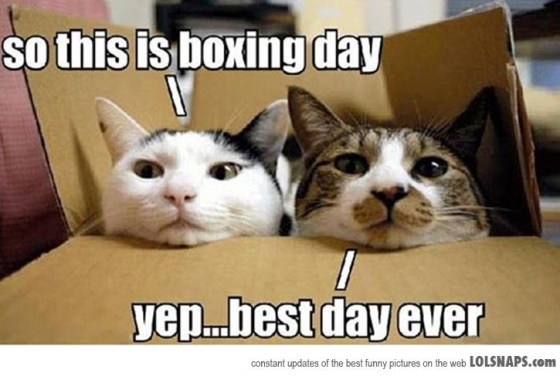 So This Is Boxing Day