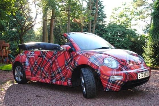Tartan New VW Beetle