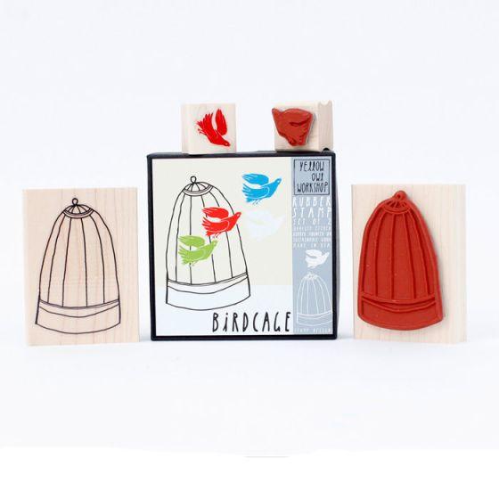 Birdcage Stamp Set