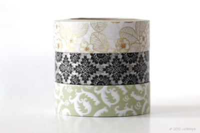 Blossom Damask Paisley Washi Tape