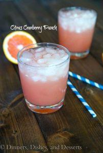 Citrus Cranberry Punch