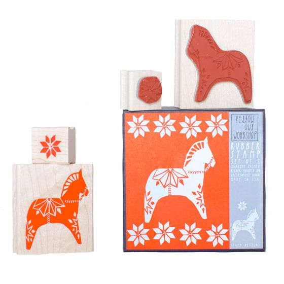 Dala Horse Stamp Set