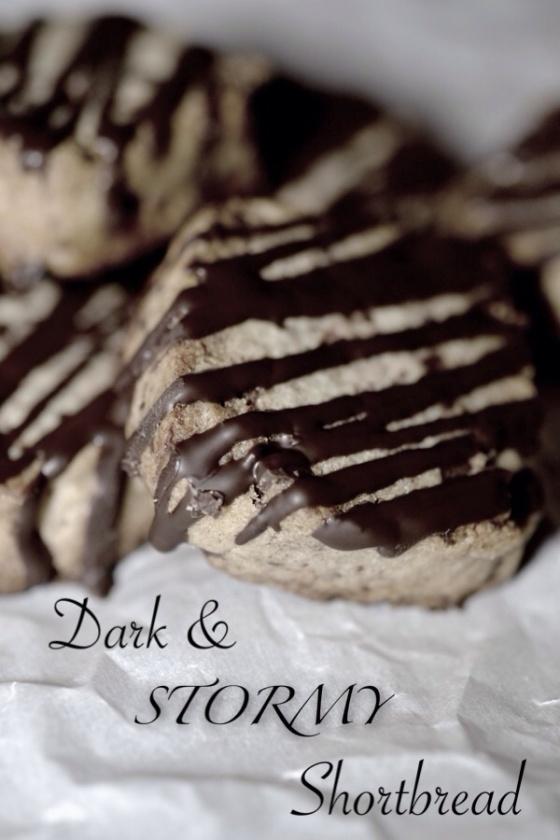 Dark & Stormy Shortbread