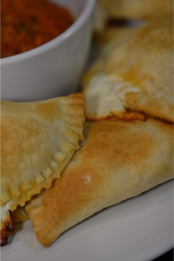 Pepperoni and Cheese Empanadas
