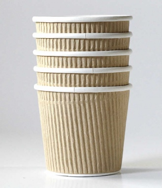 Kraft Ice Cream Cup Corrugated Set of 10