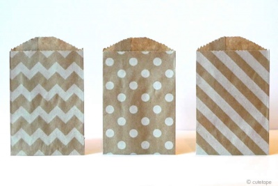 Kraft Paper Treat Bags