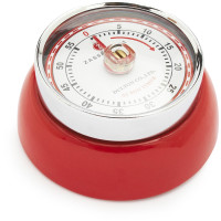 Red Retro Magnetic Kitchen Timer