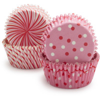 Sweet Pink Bake Cups
