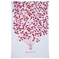 You Life My Heart Printed Kitchen Towel