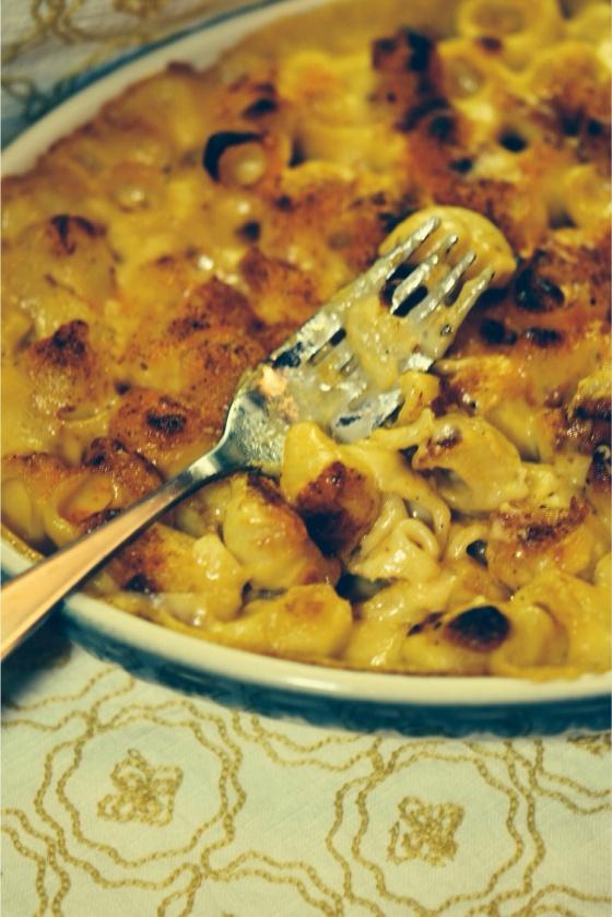 No Frills Creamy Mac and Cheese