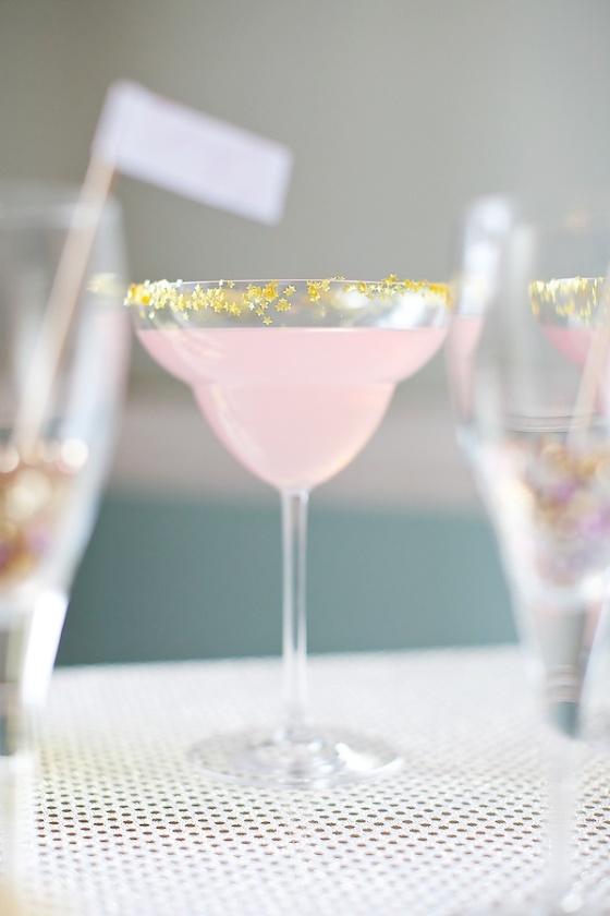 Star Studded Gemstone Drink